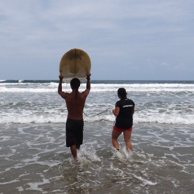 Casa Del Sol provides surfer lessons for all levels of experience.