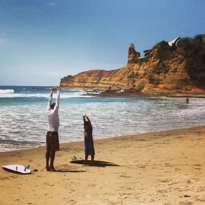 Training Niños to Surf