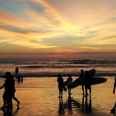 Sunset Surf with Casa Del Sol